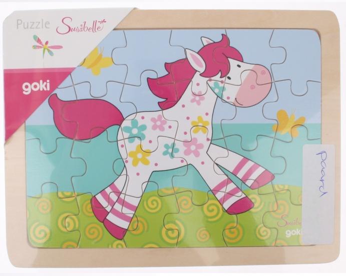 Goki Puzzel Met Paard 24 Delig