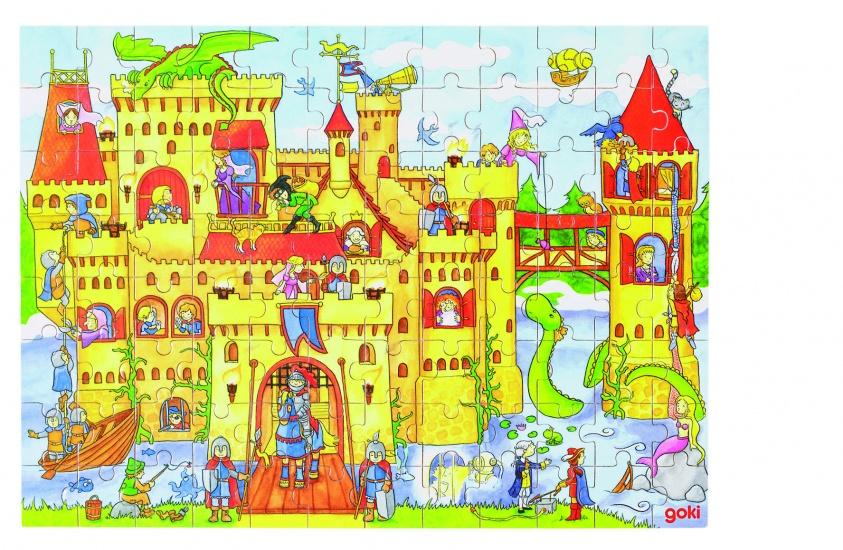 Goki Puzzel: Ridderburcht 96 Delig