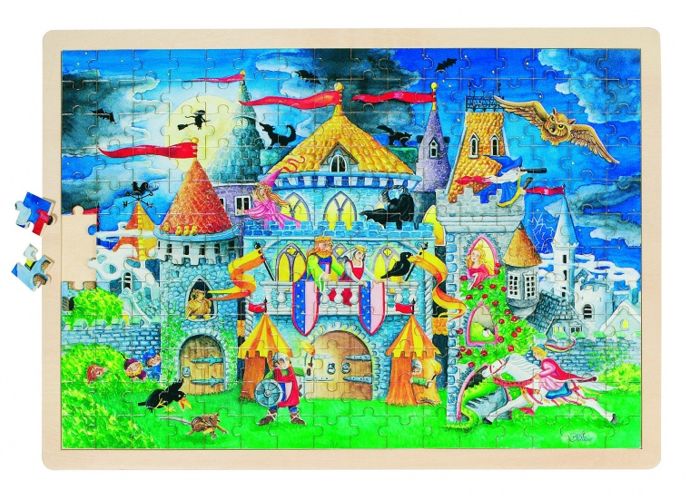 Goki Puzzel: Sprookje 192 Delig