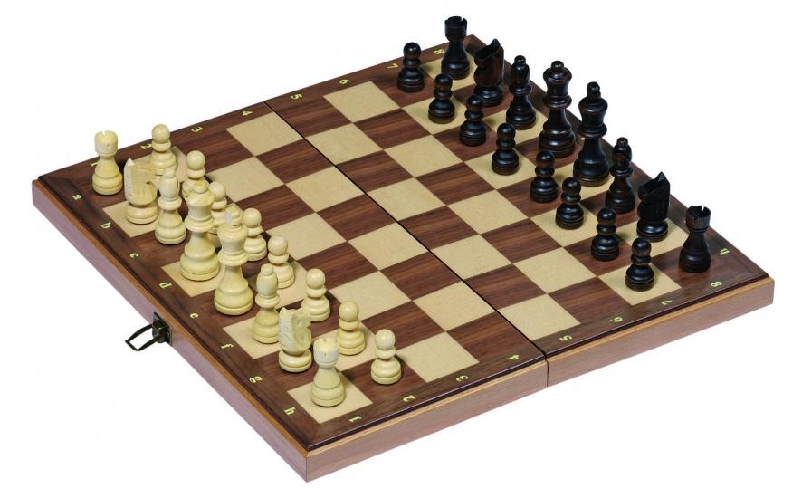 Goki Schaakbord Opvouwbaar 38 x 38 x 2,5 cm
