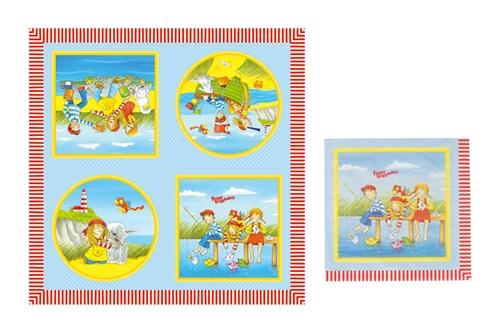 Goki Servet Peggy Diggledey 33 x 33 cm 20 stuks