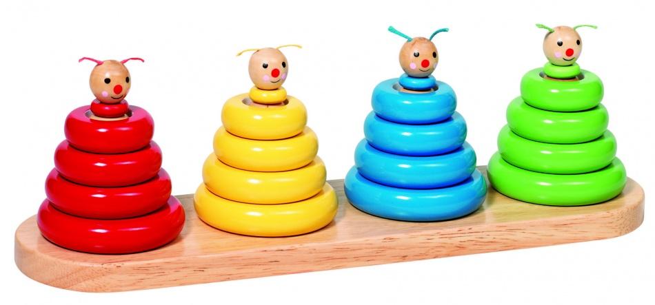 Goki Sorteerspel Stapelwormen