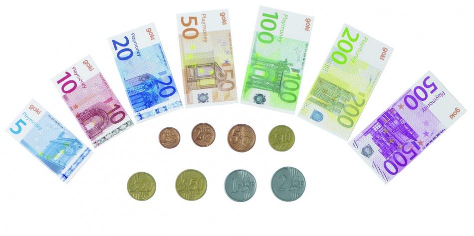 Goki Speelgeld 84 Briefjes en 32 Munten