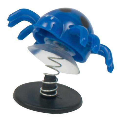 Goki springende spinnen junior blauw 4 x 4,5 cm