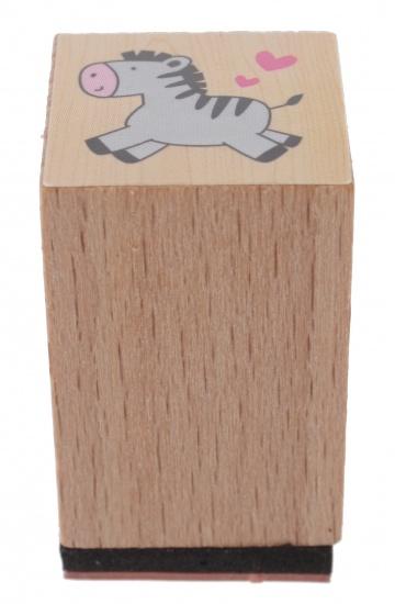 Goki stempel ezel 3 x 2 cm