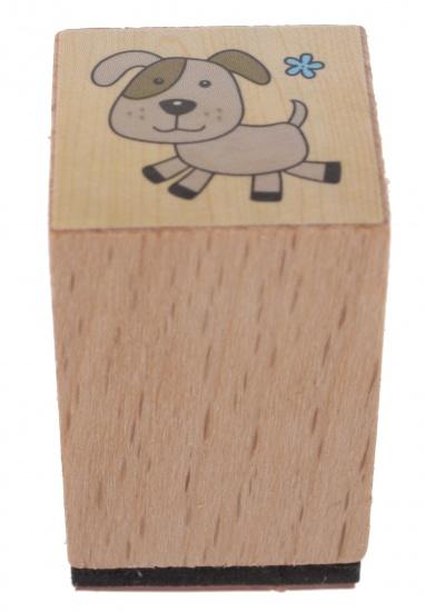 Goki stempel hond 3 x 2 cm