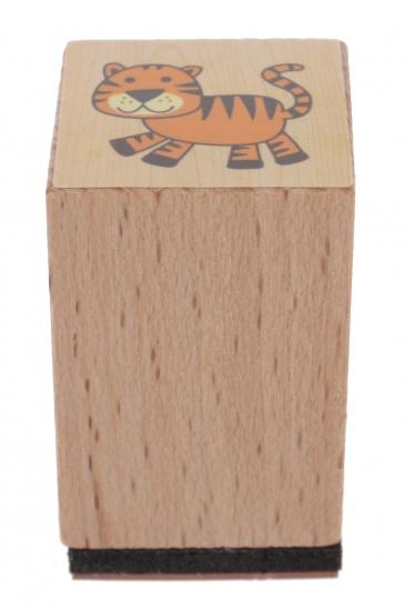 Goki stempel tijger 3 x 2 cm