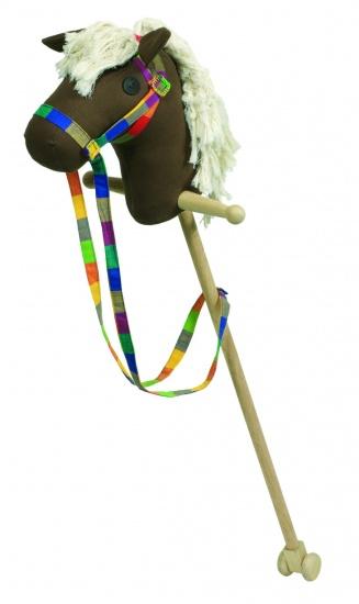 Goki Stokpaard Jumper 97cm Bruin