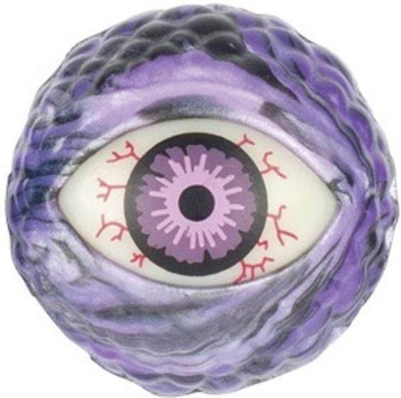 Goki Stuiterbal oog 45 mm paars