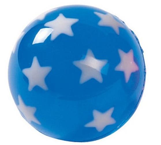 Goki Stuiterbal Sterren: 45 mm Blauw