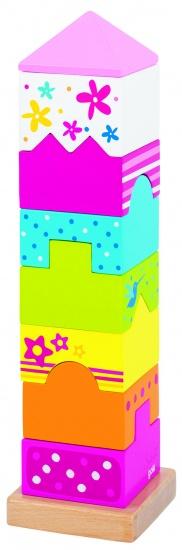 Goki Stapeltoren 9 Delig 7 x 7 x 27.5 cm