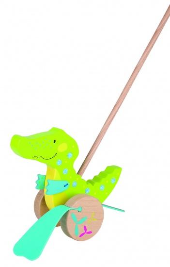 Goki Susibelle Stokroller Krokodil 19cm
