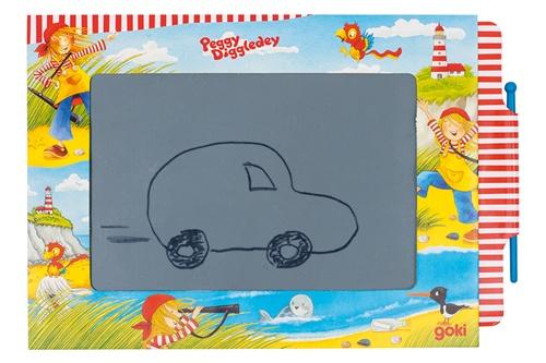 Goki toverbord Peggy Diggledey karton 19 x 13 cm