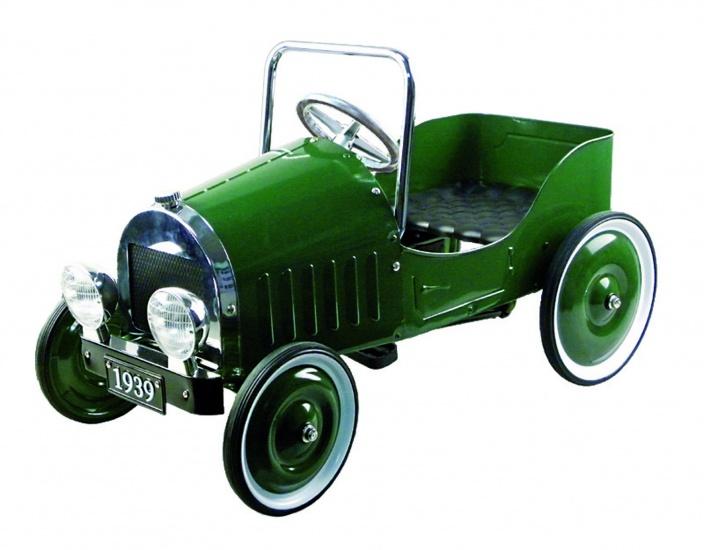 Goki retro trapauto 1939 groen