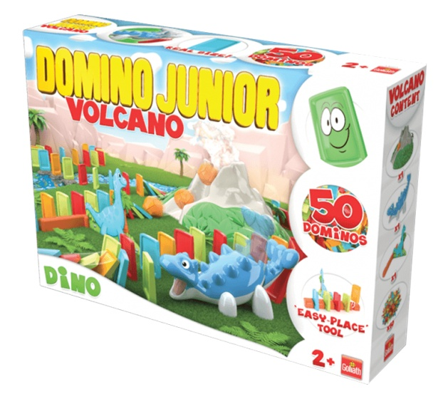 Domino Express Junior - Dino Volcano - Goliath