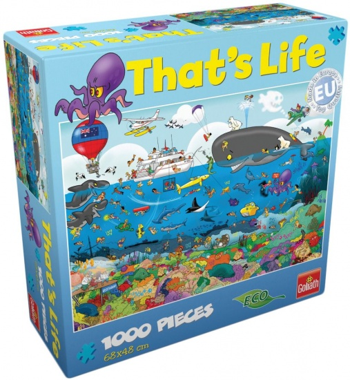 Goliath Puzzel That´s life Great Barrier Reef: 1000 stukjes