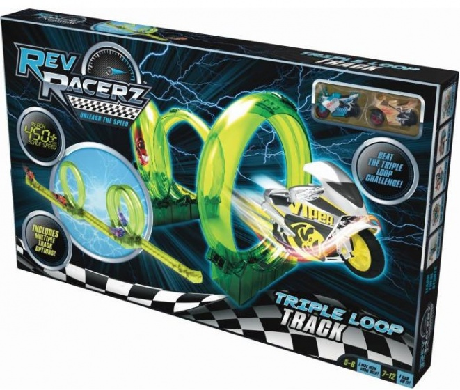 Goliath Rev Racerz Triple Loop Track groen 2 delig