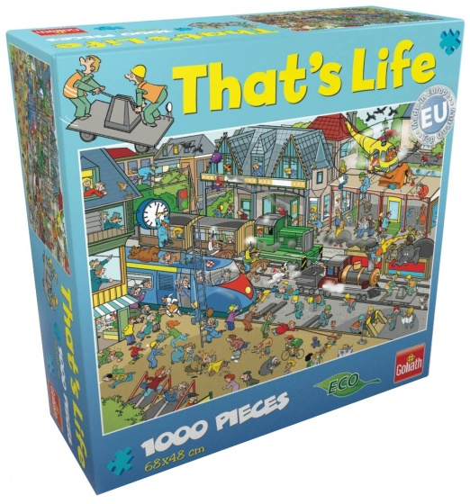 Goliath That's Life Train Station jigsaw 1000 pieces ...