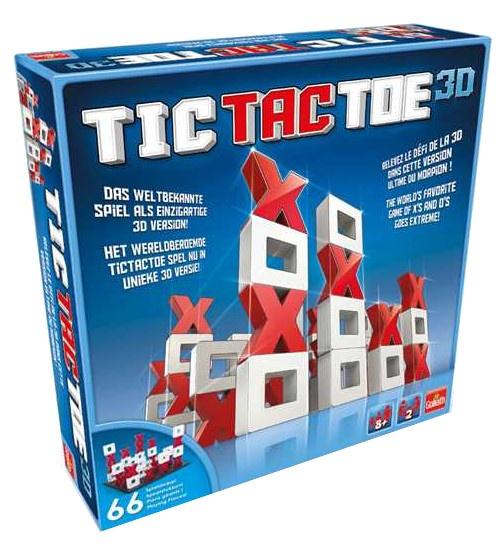Goliath Tic Tac Toe 3D strategiespel