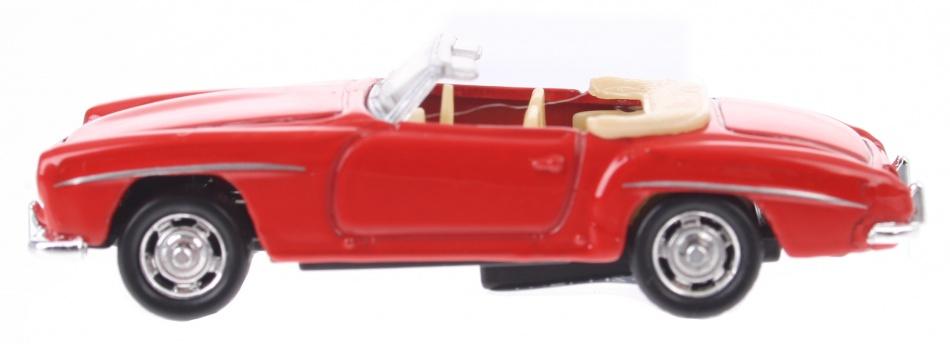 Goki Mercedes Benz rood 7 cm