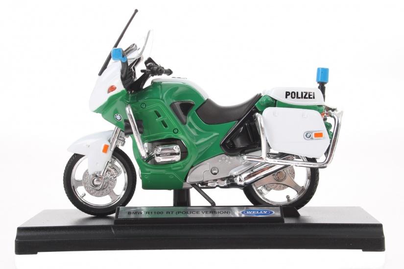 Goki motor politie groen 13 cm