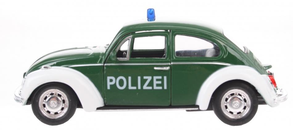 Goki Politie Beetle groen 12 cm