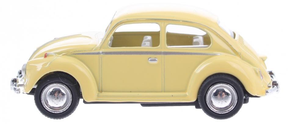 Goki Volkswagen Classical Beetle (1967) geel 6,5 cm