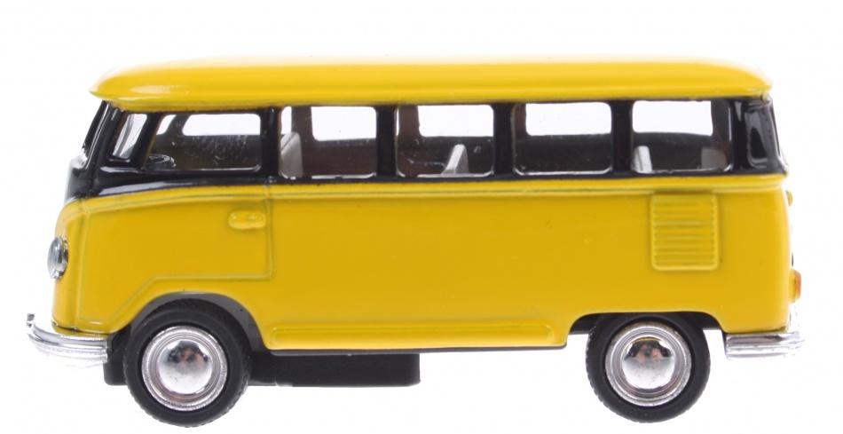 Goki Volkswagen Classical bus (1962) geel 6,5 cm