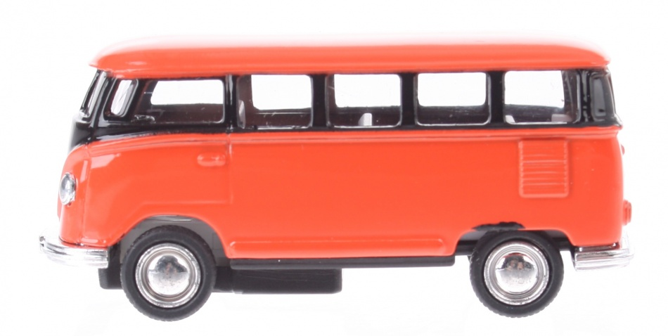 Gollnest kiesel volkswagen classical bus 1962 oranje 65 cm 141425