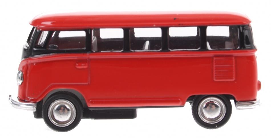 Gollnest kiesel volkswagen classical bus 1962 rood 65 cm 141401