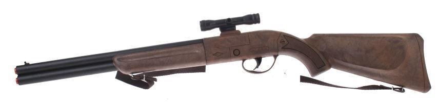 Gonher Speelgoed geweer met vizier cowboy bruin