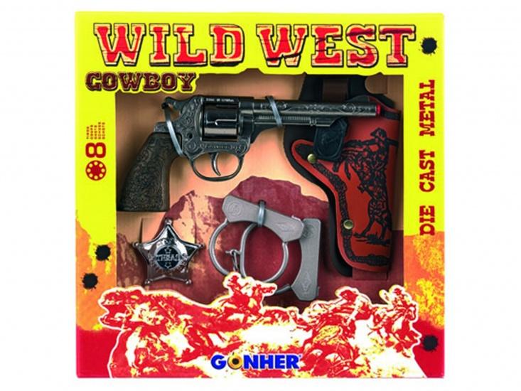 Gonher Speelset Cowboy 4 delig