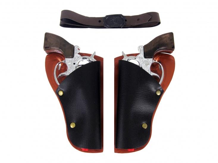 Gonher Speelset Cowboy 5 delig 2 Revolvers