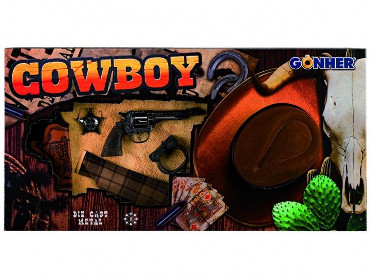 Gonher Speelset Cowboy Hoed 6 delig