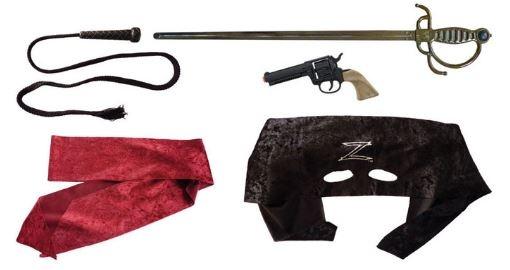 Gonher Speelset Zorro 5 delig