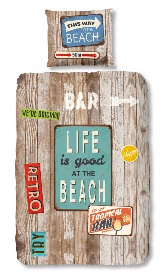dekbedovertrek Beach