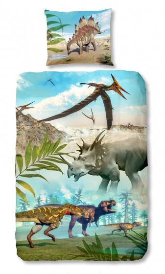 Dinoworld dekbedovertrek
