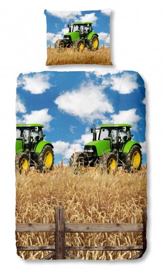 Good Morning dekbedovertrek Tractors 140 x 200/220 cm
