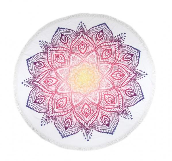 Hip strandlaken Mirazo 160 cm roze/paars kopen