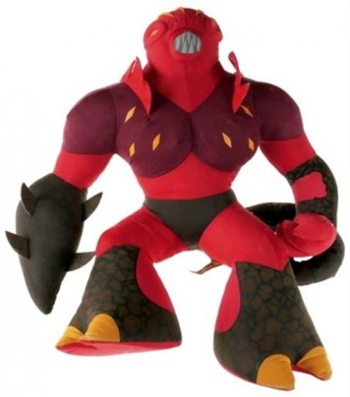 Gormiti pluchen Magmion knuffel 65 cm rood