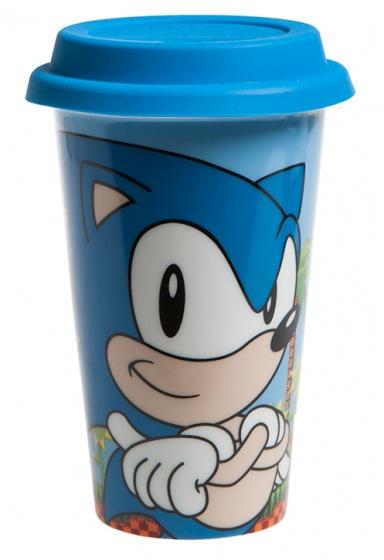 Gosh! Designs koffiebeker Sonic Classic porselein 0,4 liter blauw