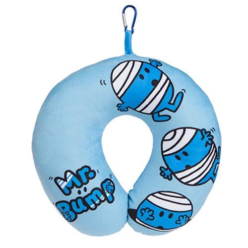 Kamparo nekkussen Mr. Bump 28 x 30 cm blauw kopen