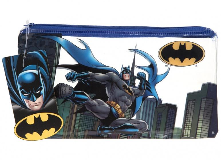 Kamparo etui Batman 24 cm blauw/wit kopen