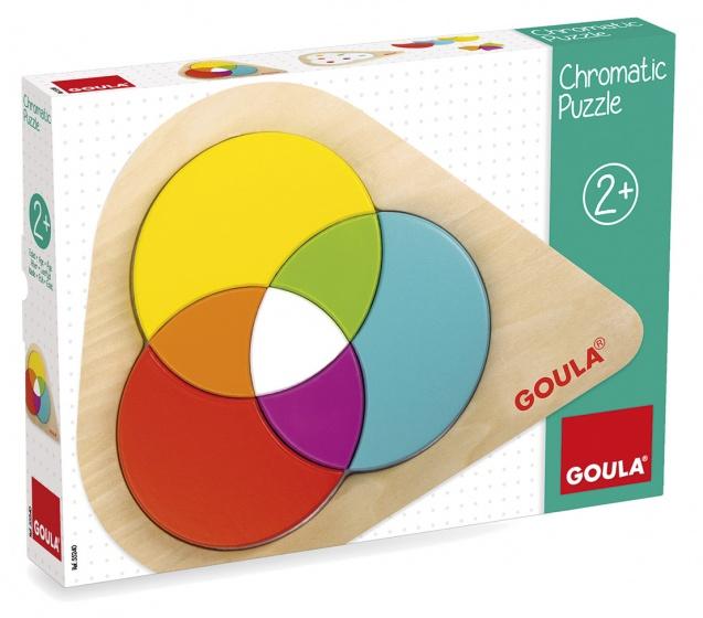 Goula kleurenpuzzel 7 stukjes