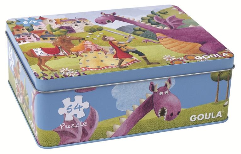 Goula legpuzzel de Prins en de Draak puzzel 54 stukjes