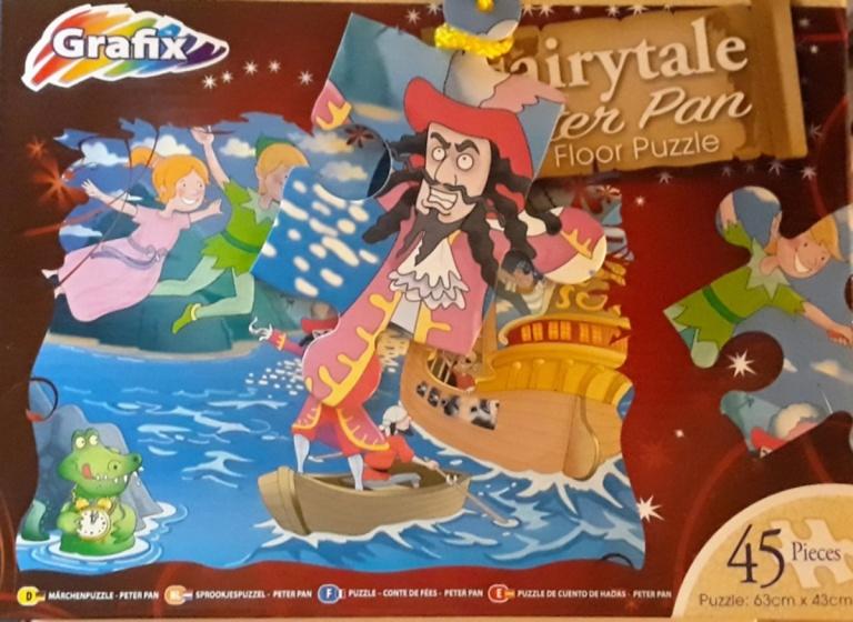 Grafix legpuzzel Peter Pan 45 stukjes
