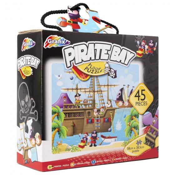 Vloerpuzzel Piraatjes