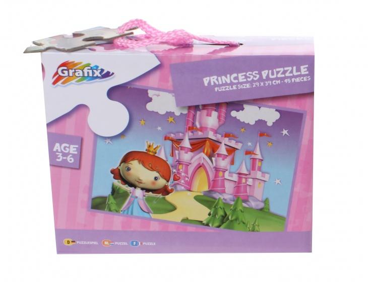 Grafix puzzel kasteel 45 stukjes