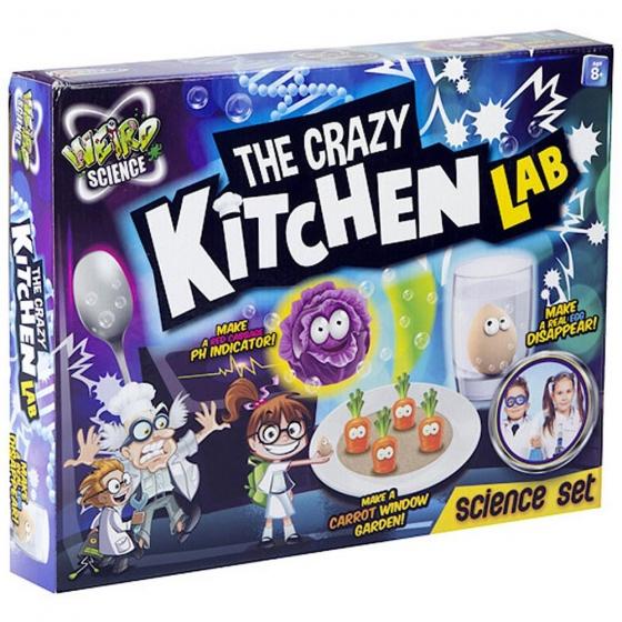 Grafix The Crazy Kitchen Lab experimenteerset 12 delig