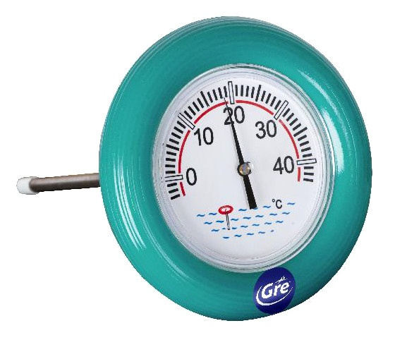 Gre Thermometer boei �15 cm groen